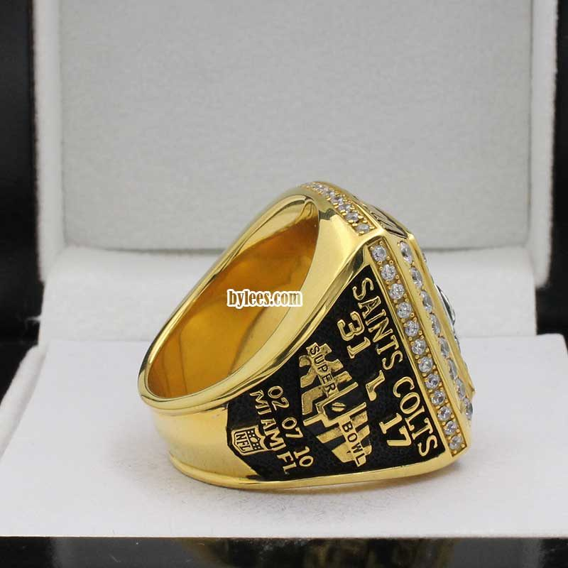 2009 saints super bowl ring