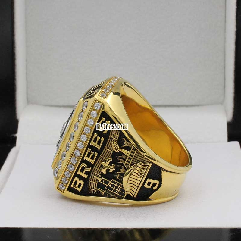 Drew Brees Rings ( 2009 Super Bowl XLIV Champions)