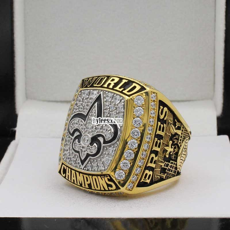 new orleans super bowl ring ( 2009 Super Bowl XLIV Champions)