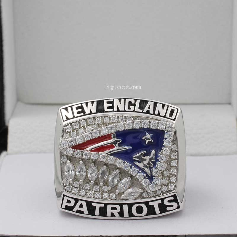 2011 New England Patriots American Football Championship Ring