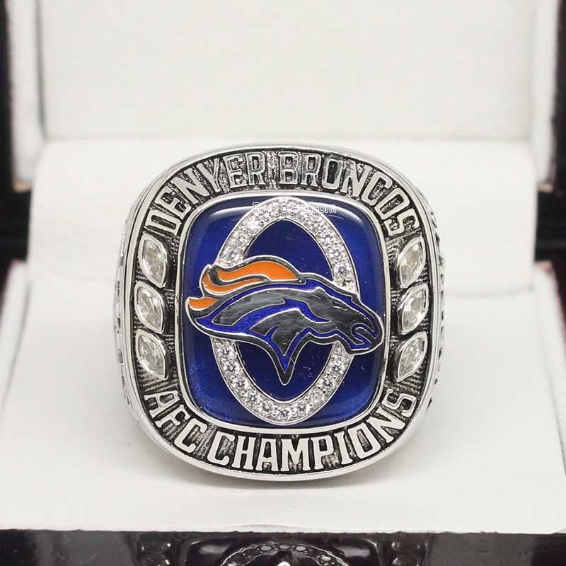 2013 Denver Broncos afc Championship Ring