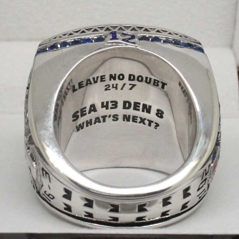 Seattle Seahawks Super Bowl Ring 2013