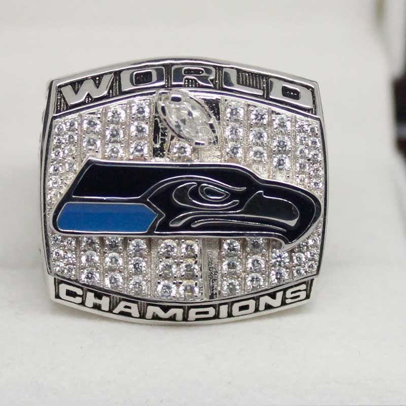 2013 Super Bowl XLVIII Seattle Seahawks Fan Championship Ring