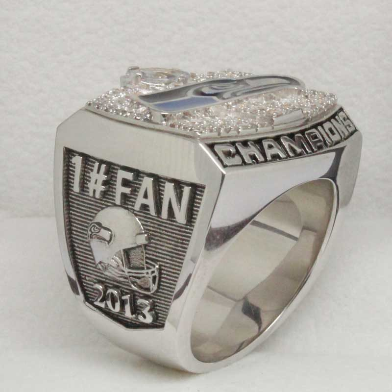 Fan Championship ring of 2013 supr bowl game