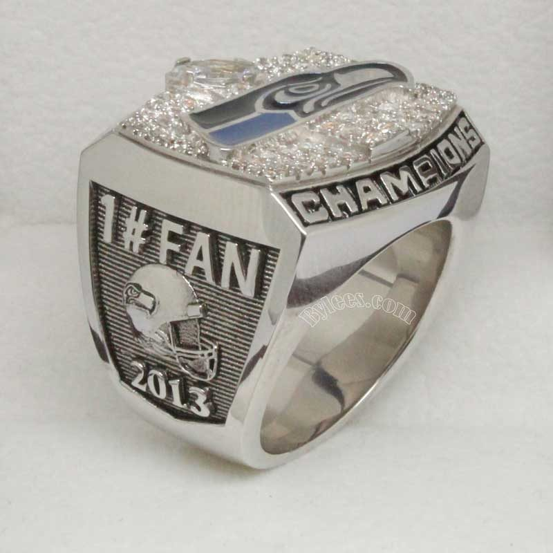 2013 Seattle Seahawks Fan Championship Ring