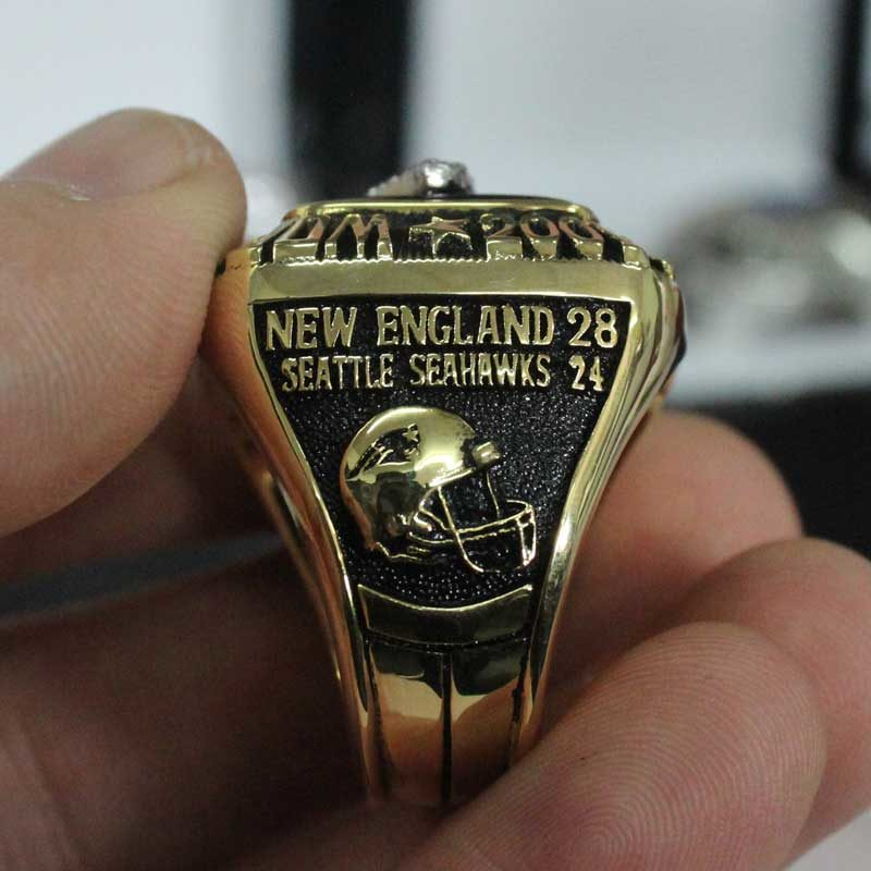 super bowl fan rings 2014 for new England