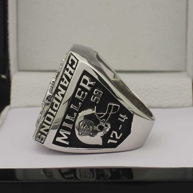 Denver Broncos 2015 Fan Championship Ring