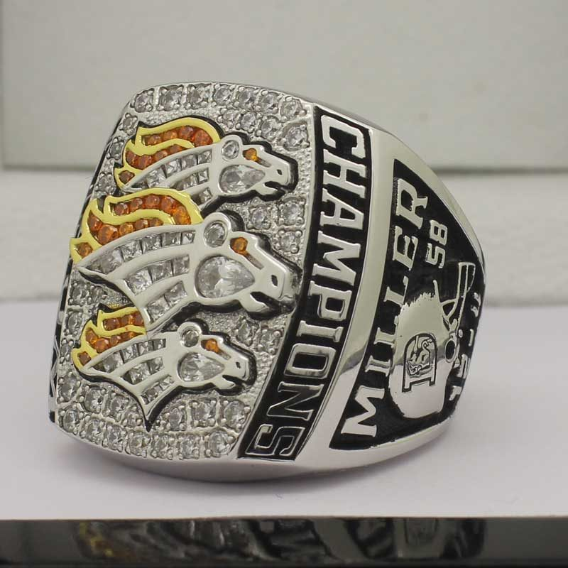 2015 Denver Broncos Fan Championship Ring