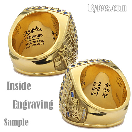 engraved championship rings