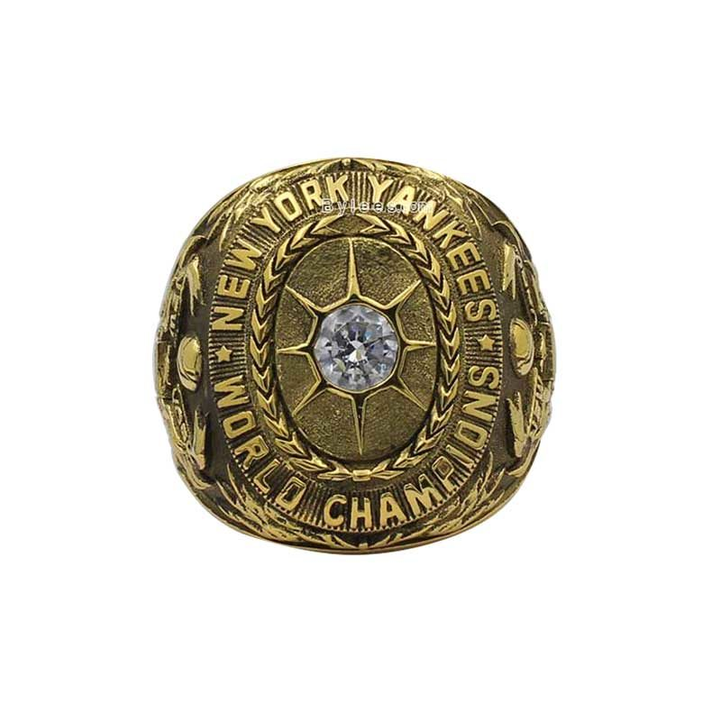 babe ruth 1927 ring