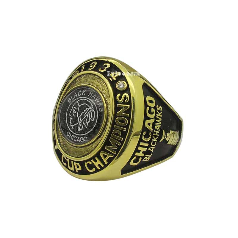 1934 Chicago Blackhawks Stanley Cup Championship Ring – Best ... 198366ea9