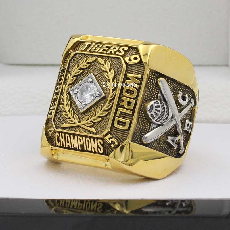 1945 Detroit Tigers World Series Championship Ring