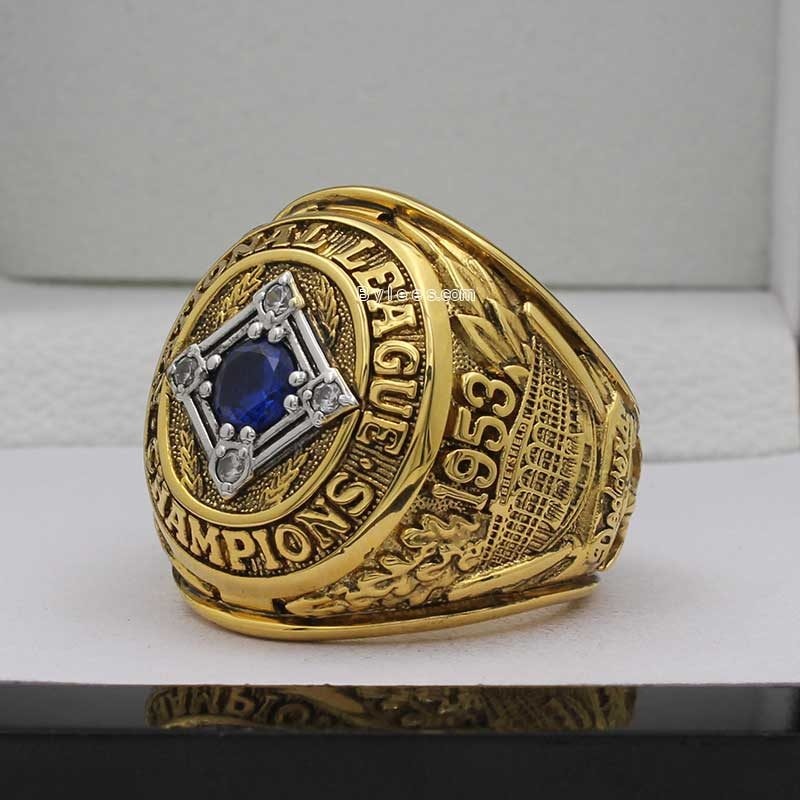 1953 Brooklyn Dodgers National League Championship Ring