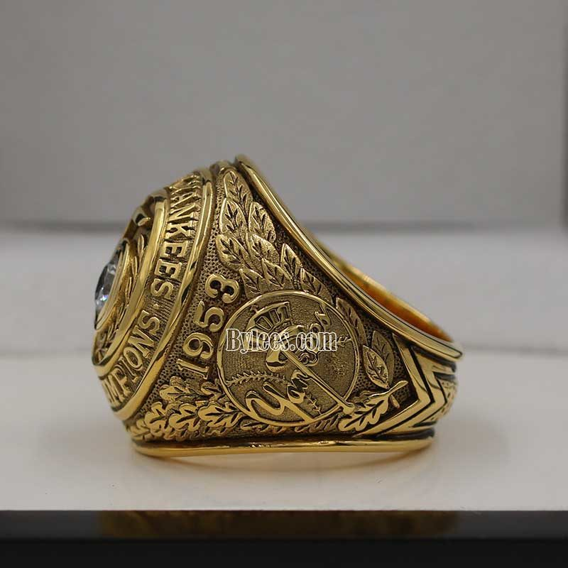 1953 ny yankees world series ring