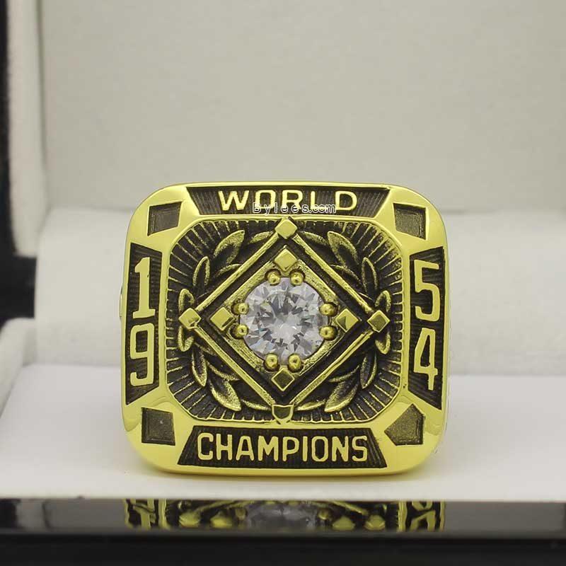 1954 world series ring
