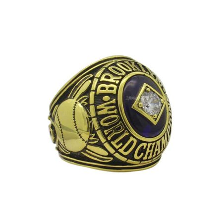 dodgers world series ring replica (1955)