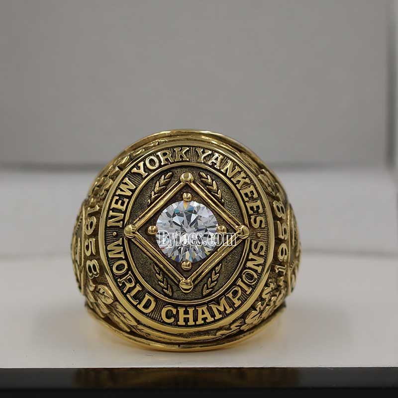 yogi berra rings (1958 World Series Champions)