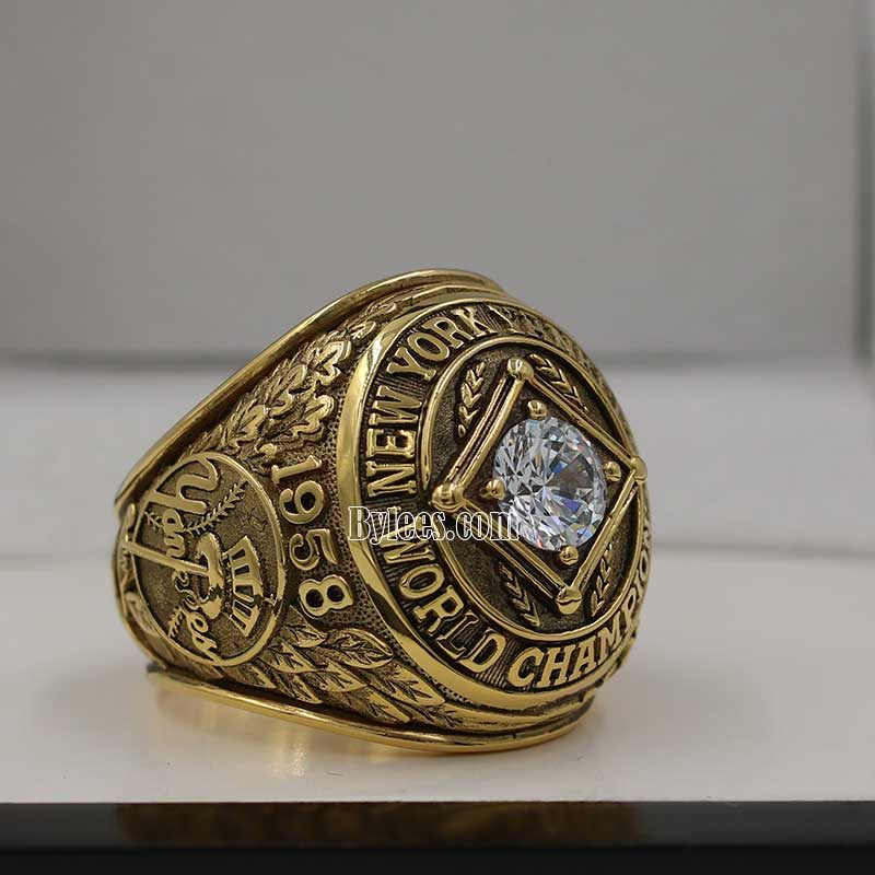 mickey mantle rings (1958 World Series Champions)