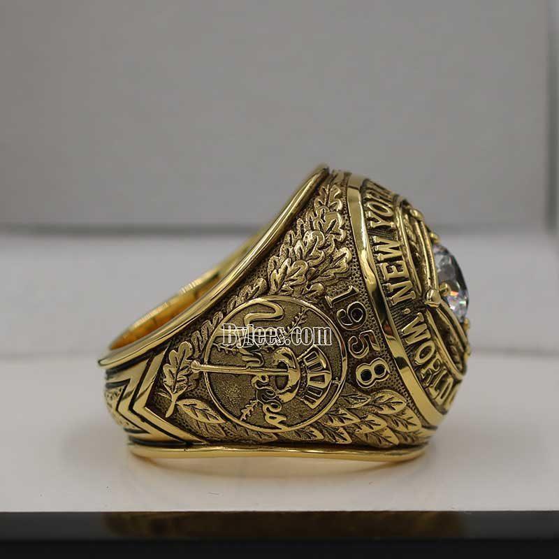 1958 yankees Ring