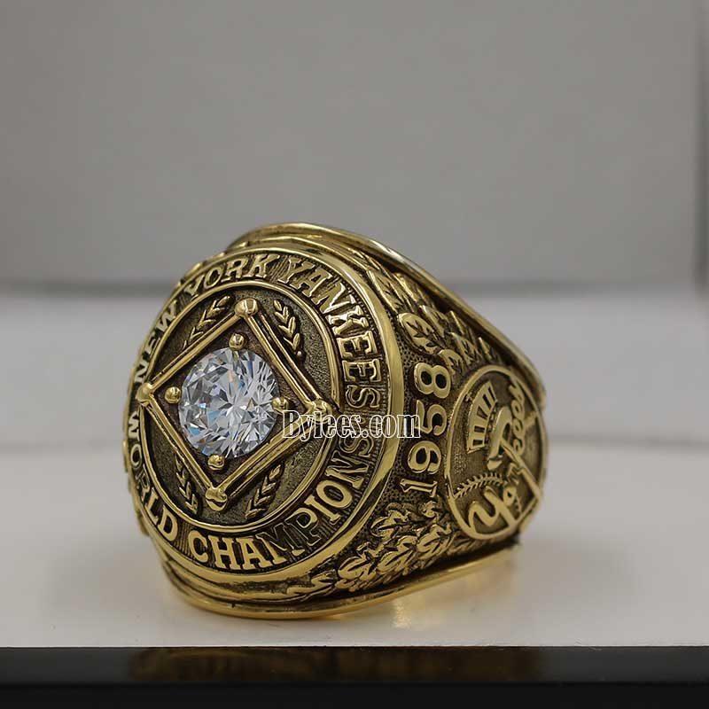 1958 yankees world series ring