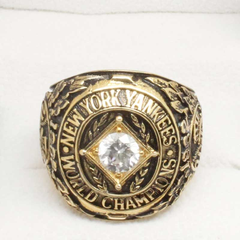 1962 yankees championship ring