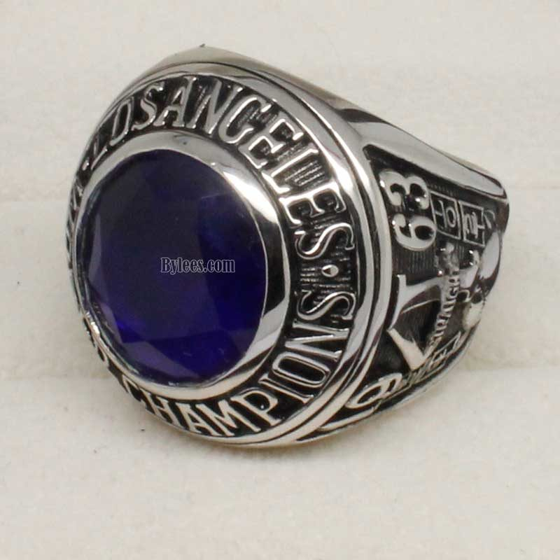 la dodgers rings (1963 world series Champions)