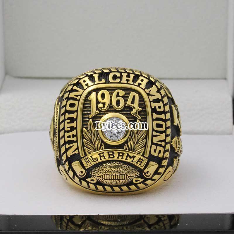 1964 Alabama National Championship Ring