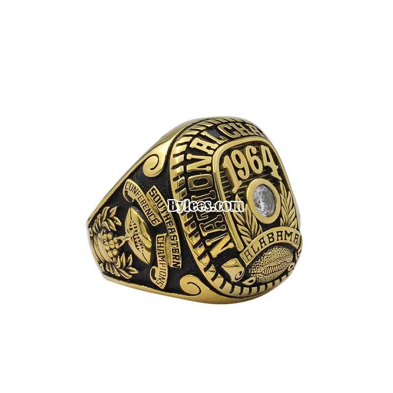 alabama 1964 Football National championship ring