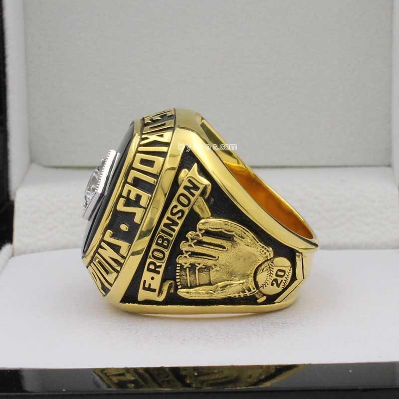 baltimore orioles world series ring in 1966( Frank Robinson was the MVP of this seaon)