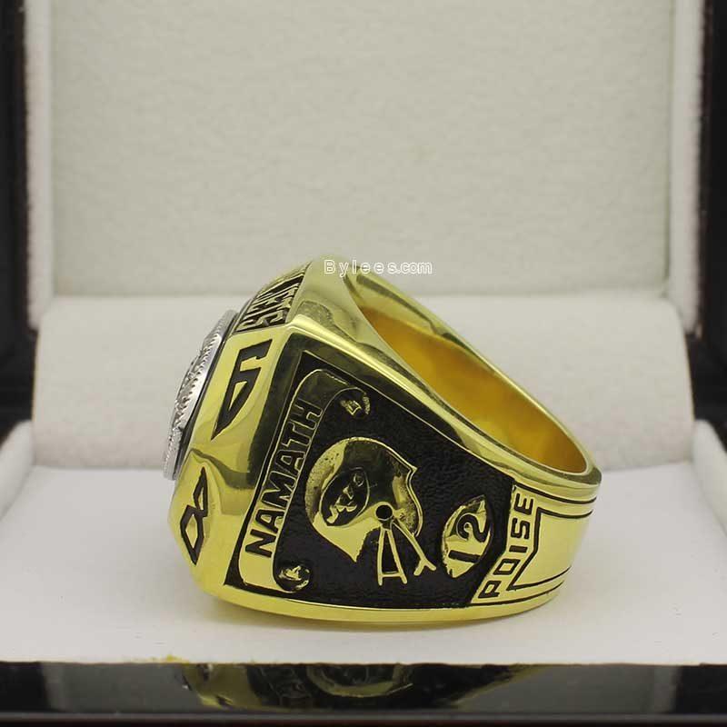 joe namath super bowl rings ( 1978 super bowl III Champions)