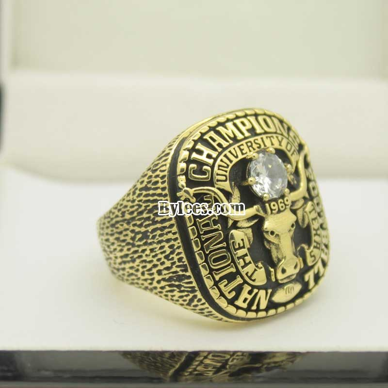 1969 Texas Longhorns football National Championship Ring