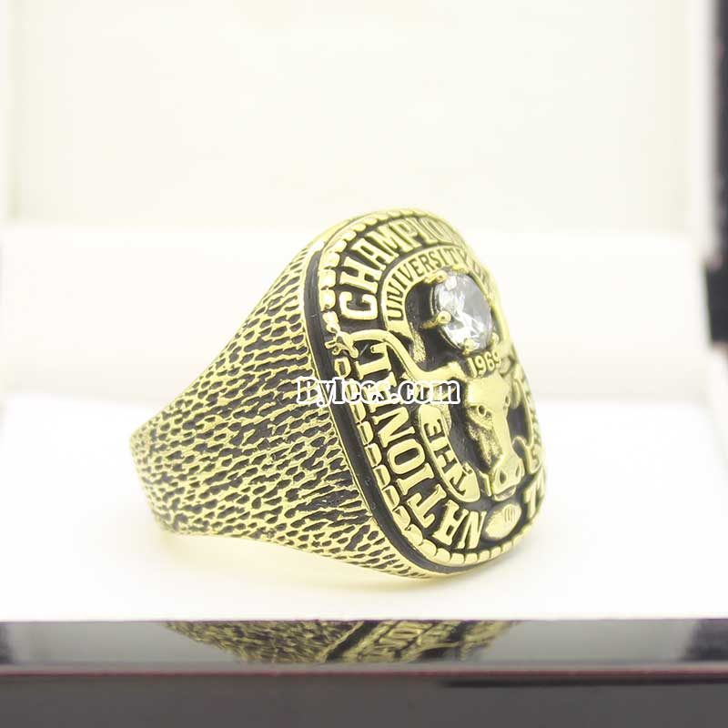 1969 university of texas national championship ring