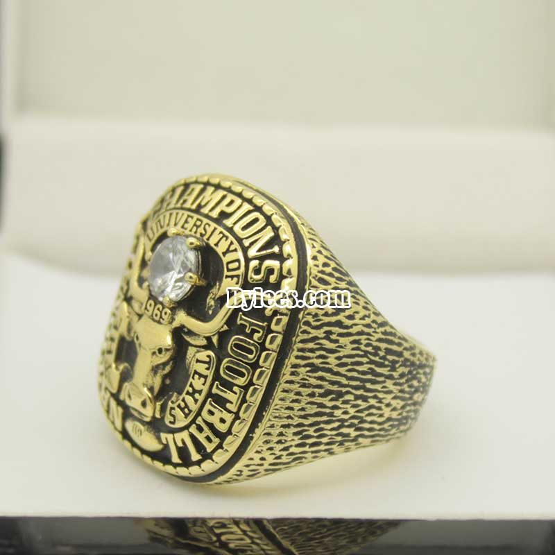 texas longhorns 1969 national championship ring