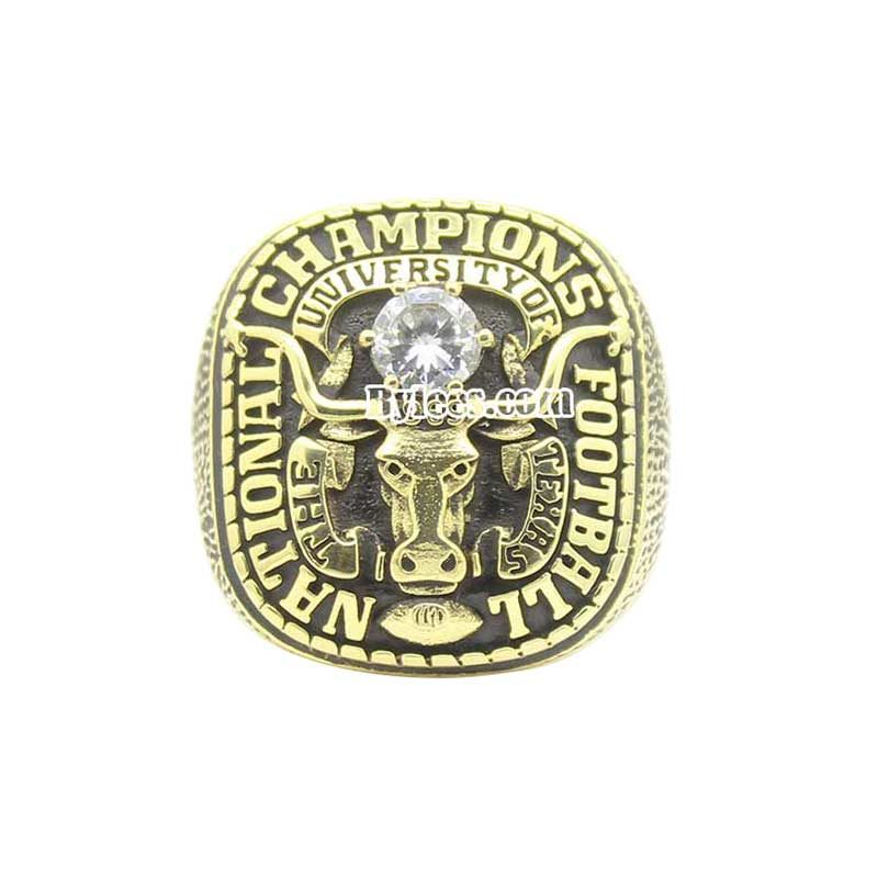 1969 Texas Longhorns National Championship Ring (thumbnail)