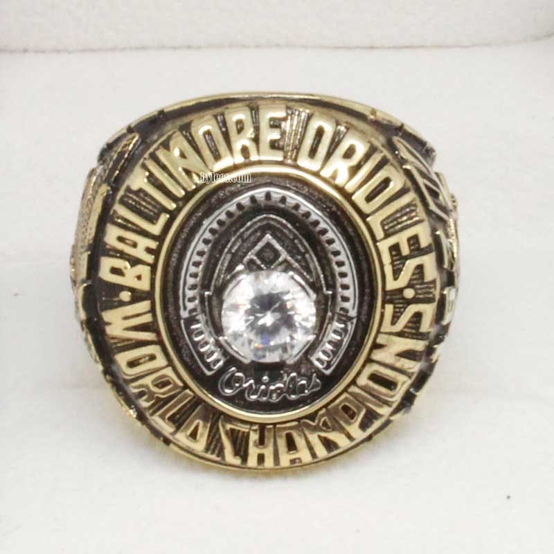 1970 Baltimore Orioles World Series Championship Ring (Front view)