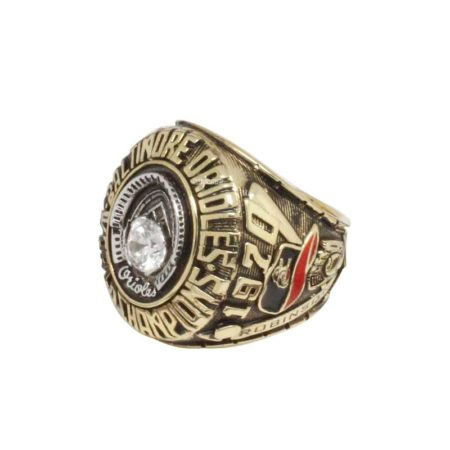 overview of 1970 Baltimore Orioles World Series Championship Ring