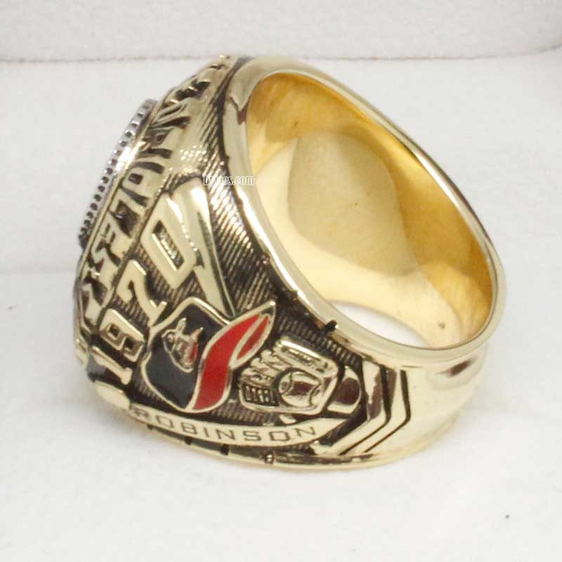 1970 Baltimore Orioles World Series Championship Ring (side view)