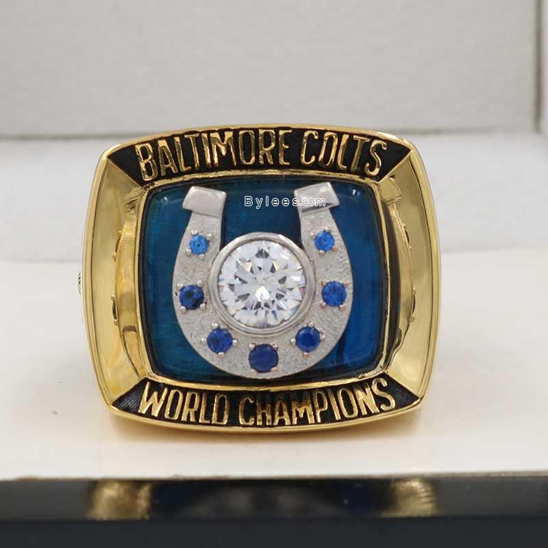 Baltimore Colts 1970 Super Bowl V Championship Ring