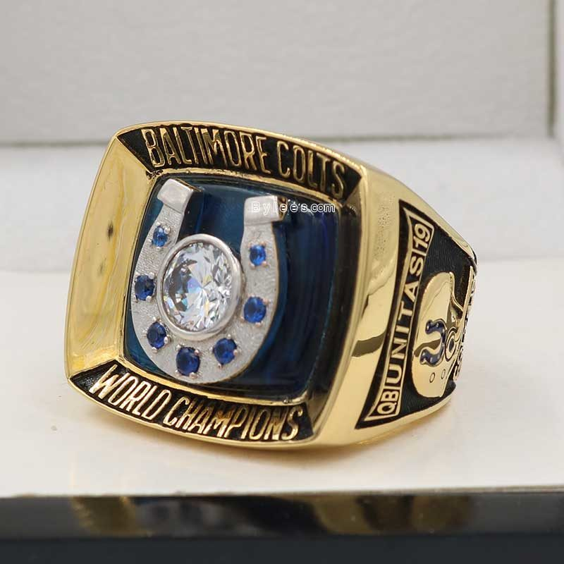 colts super bowl V ring