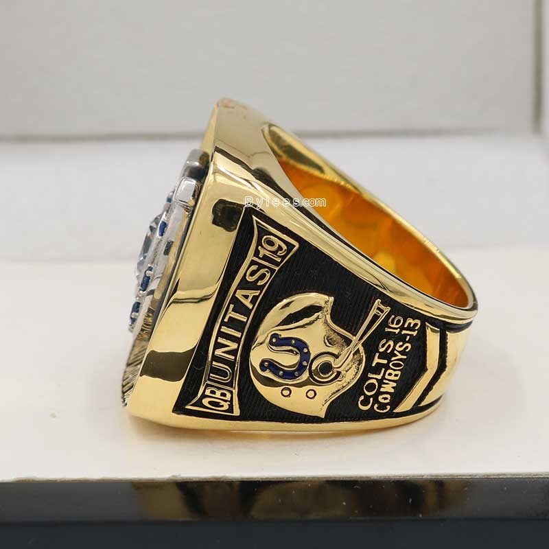 baltimore colts 1970 super bowl ring