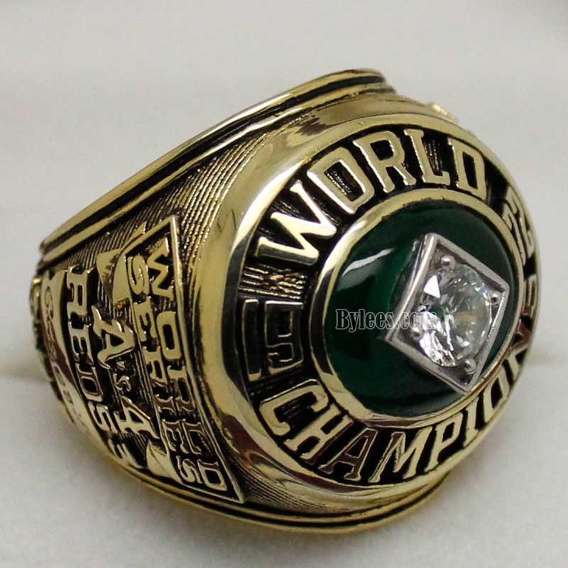 1972 Oakland Athletics World Series Ring