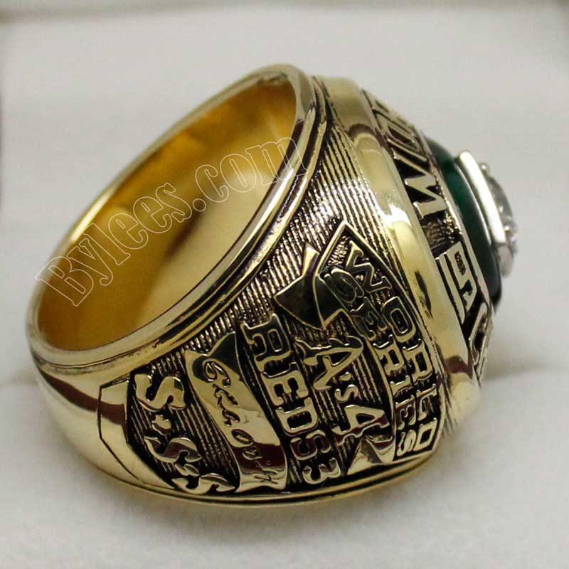 Oakland Athletics 1972 World Series Ring