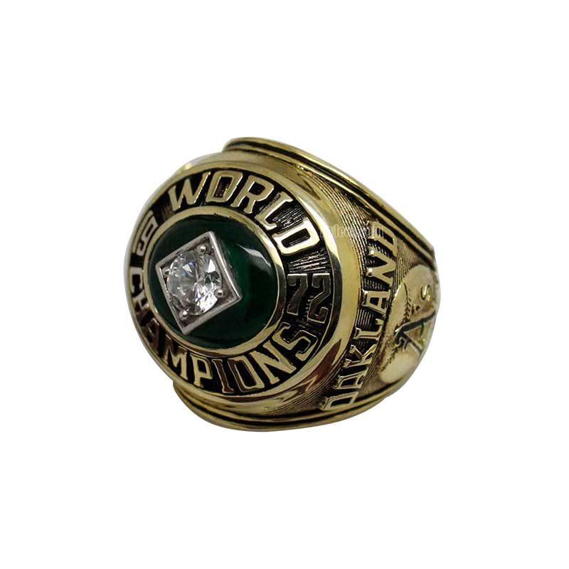 1972 Oakland Athletics World Series Championship Ring