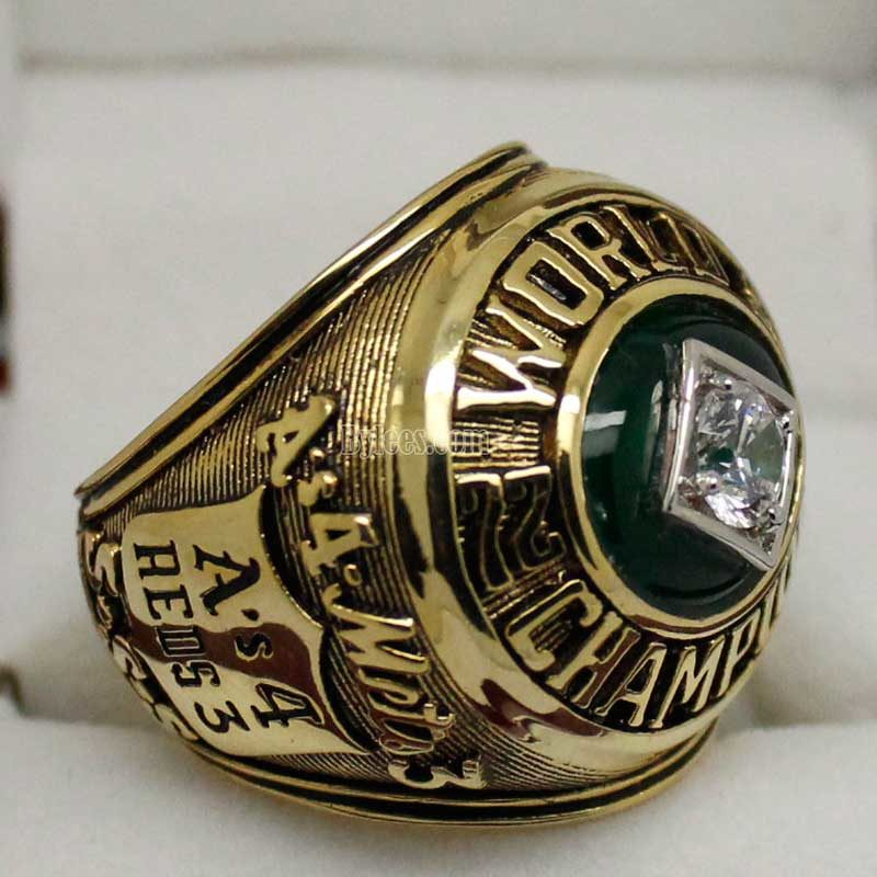 Oakland Athletics 1973 world series ring