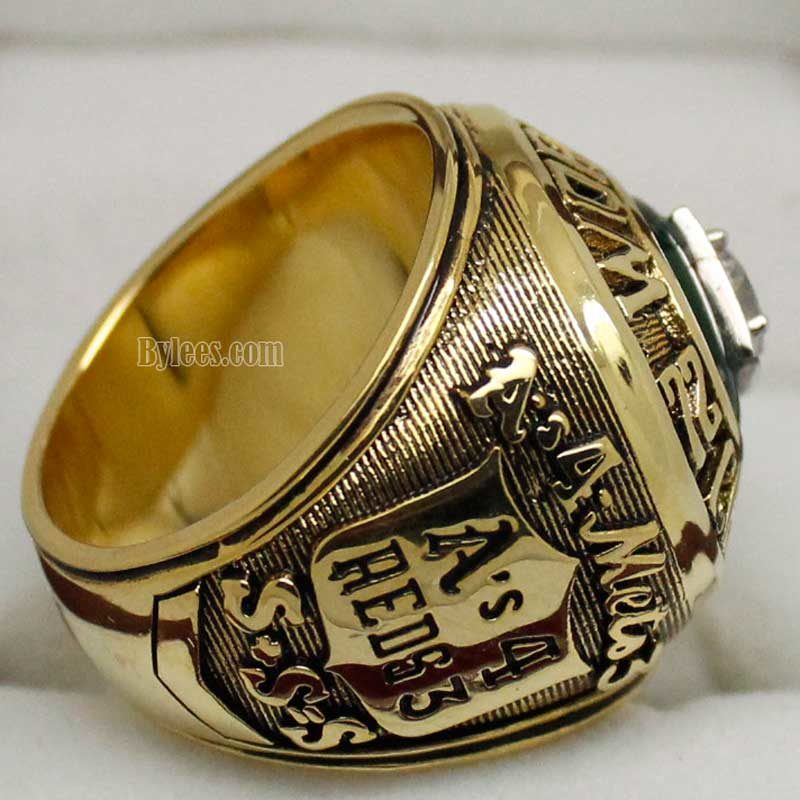 Oakland a's 1973 world series ring