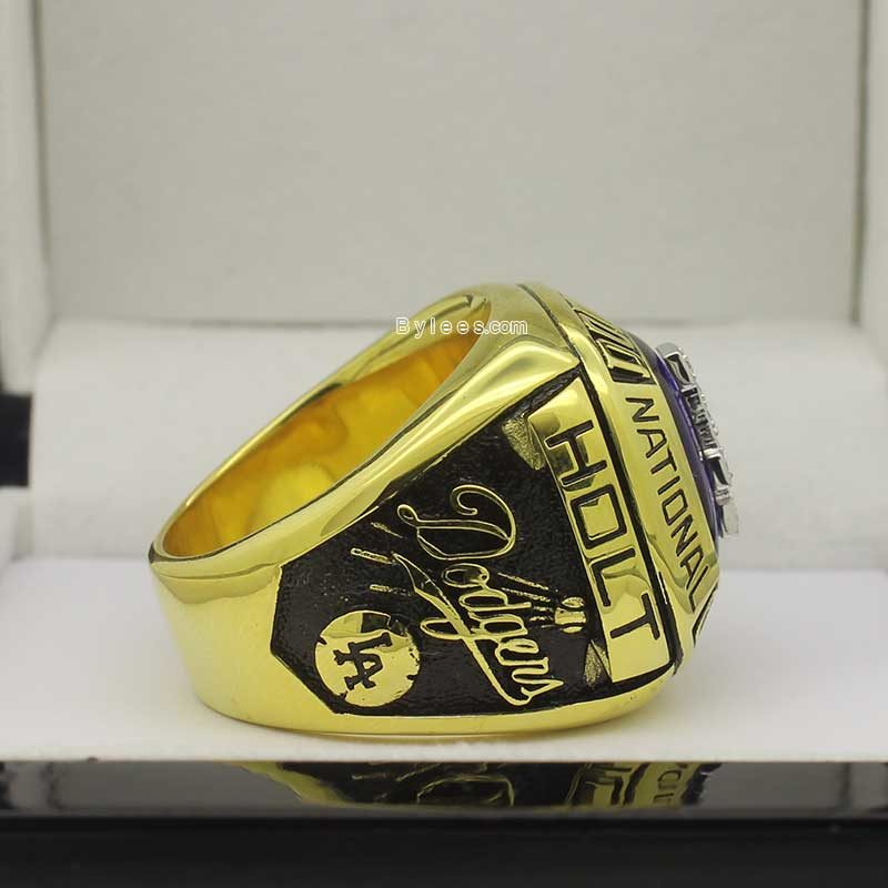 Right side view of dodgers rings (1974 NL Champions)