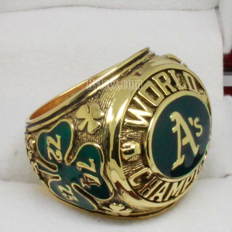 Oakland 1974 World Series Championship Ring