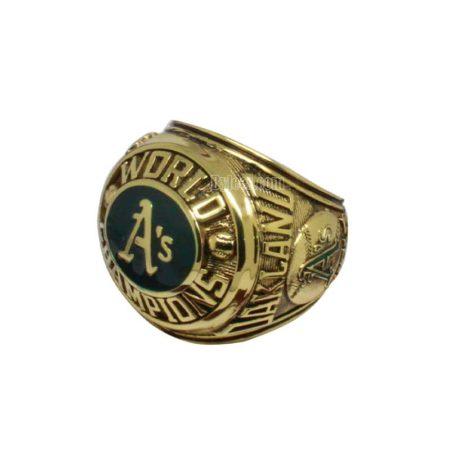 1974 Oakland Athletics World Series Championship Ring