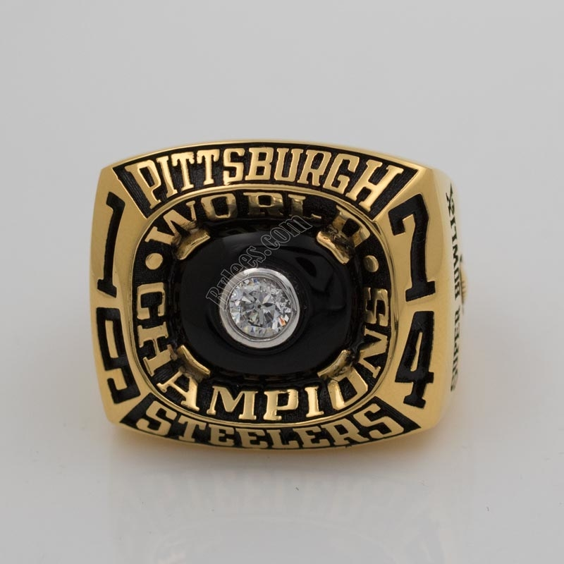 Pittsburgh Steelers 1974 Super Bowl IX Championship Ring