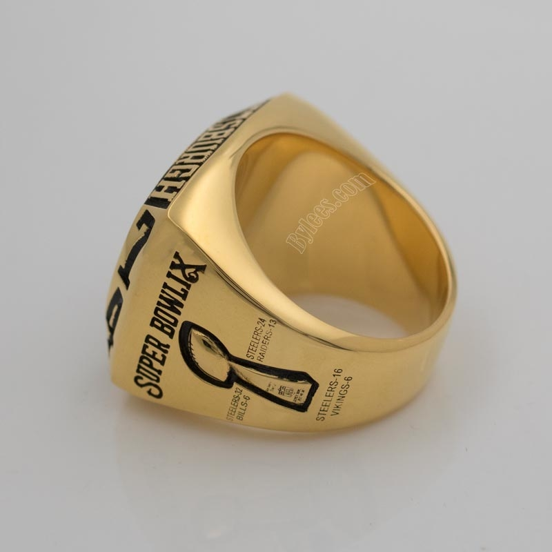 Steelers 1974 super bowl ring